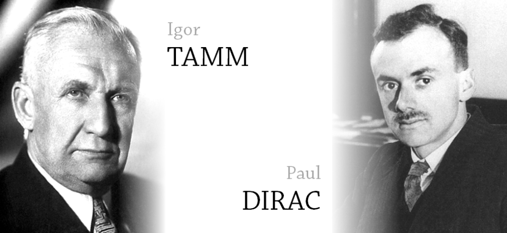 Tamm and Dirac
