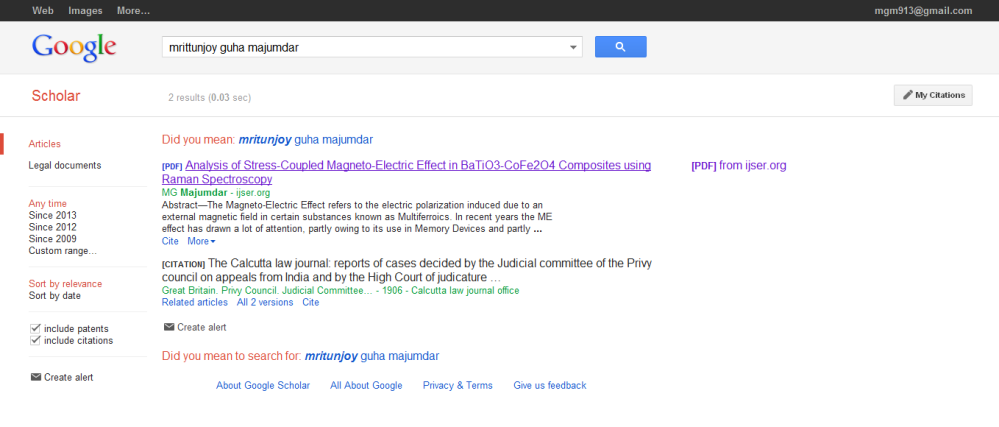 IJSER Google Scholar 1