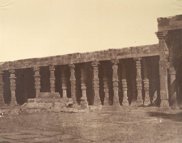 Rao Petarah's Temple, Delhi 1858